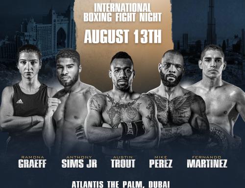 August 13th, LEGACY Boxing Series Dubai, UAE