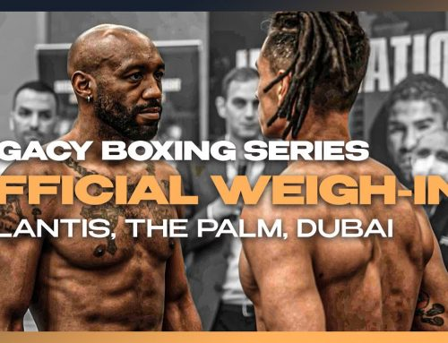 Official weigh-in – Dubai Boxing Series